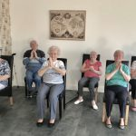 Seated Yoga in the Community